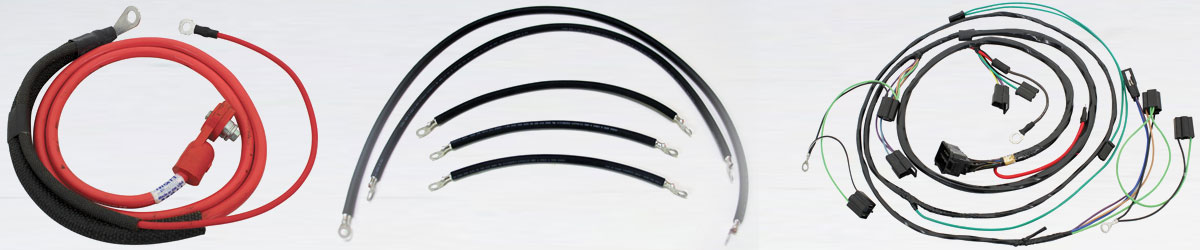 Wire Harness and Battery Cables